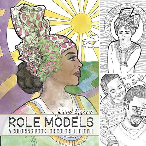 kleurboek role models jurino ignacio